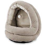 "Petco Grey Hooded Cat Bed 15"" L X 14"" W X 16"" H"