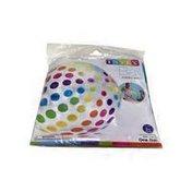 "Intex 42"" Jumbo Inflated Multicolor Beach Ball"