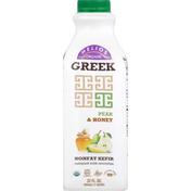 Helios Kefir Cultured Milk Smoothie, Greek, Nonfat, Pear & Honey