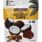 Made in Nature Coconut Chips, Toasted, Ginger Masala Chai