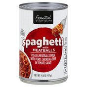 Essential Everyday Spaghetti, with Meatballs