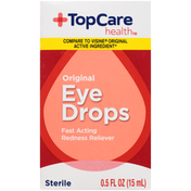 TopCare Sterile Original Fast Acting Redness Reliever Eye Drops