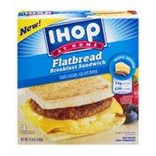 IHOP At Home Flatbread Breakfast Sandwich - 4 CT