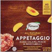 Fiorucci Hard Salami, Peach & Mozzarella