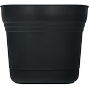 Bloem Planter, Saturn Black, 12 Inches
