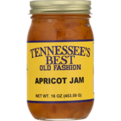 Tennessee's Best Jam, Apricot, Old Fashion, Jar