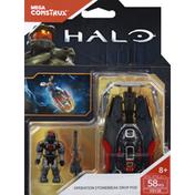 Mega Construx Toy, Halo, Operation Stonebreak Drop Pod