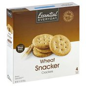 Essential Everyday Wheat Snacker Crackers
