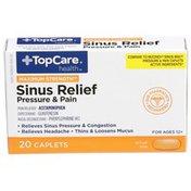 TopCare Sinus Relief Pressure & Pain Maximum Strength - 20 CT
