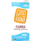 Good Karma Flaxmilk, Vanilla, Smooth & Creamy