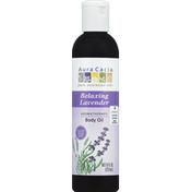 Aura Cacia Body Oil, Aromatherapy, Relaxing Lavender