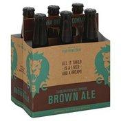 Carolina Brewing Beer, Brown Ale