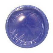 First Street Touch Of Color True Blue Plastic Plate 10 Inch