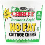 Cabot Cottage Cheese, No Fat , Vermont Style