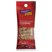 Shoppers Value Cashews, Roasted & Salted, Halves & Pieces