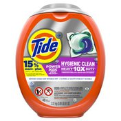 Tide Hygienic Clean Heavy 10X Duty Power Pods Laundry Detergent Pacs, Spring