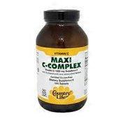 Country Life Maxi C-Complex Vitamin C 1000 Mg