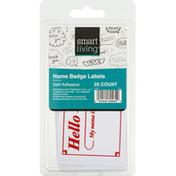 Smart Living Labels, Name Badge