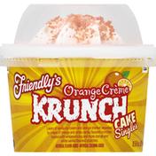 Friendly's Cake, Orange Creme, Krunch, Singles