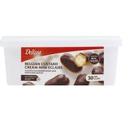 Delizza Eclairs, Belgian Custard Cream, Mini