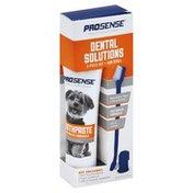 Pro-Sense Dental Solutions, for Dogs, 3-Piece Kit