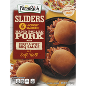 Farm Rich Hand Pulled Pork Sliders, Hickory Smoked