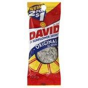 DAVID Seeds Sunflower Seeds, Roasted & Salted, Original