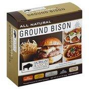 Durham Ranch Bison, All Natural, Ground
