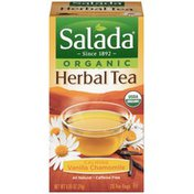 Salada Organic Calming Vanilla Chamomile Herbal Tea