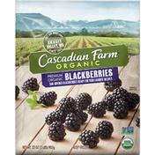 Cascadian Farm Organic Blackberries, Premium Frozen Fruit, Non-GMO