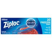 Ziploc Freezer Bags Pint