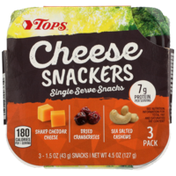 Tops Cheese Snackers Single Serve Snacks