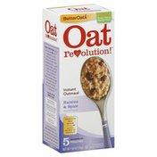 Better Oats Oatmeal, Instant, Raisins & Spice
