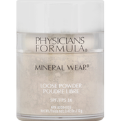 Physicians Formula Loose Powder, Translucent Light PF10948, SPF 16