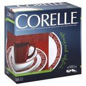 Corelle Dinnerware, Glass, Durable Vitrelle