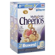 Cheerios Cereal, Multi Grain, Double Pack