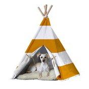 Merry Pet Orange Stripe Large Cat Dog Pet Teepee