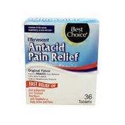 Best Choice Effervescent Antacid & Pain Relief