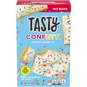 O'Tasty Confetti Dessert Kit with Sprinkles, Filling & Crust Mix