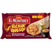 El Monterey Kickin' Queso Potato, Beef & Queso Flavored Burritos