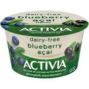 Activia Blueberry Acai Almond Milk Yogurt Alternative