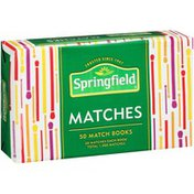 Springfield Match Books