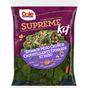 Dole Supreme Kit, Spinach Miso Crunch