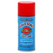 Gold Bond Foot Spray, Medicated, Maximum Strength