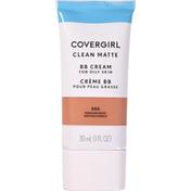 CoverGirl Clean Matte BB Cream Medium Deep Female Cosmetics