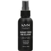 NYX Professional Makeup Makeup Setting Spray, Radiant Finish MSS03