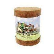 Baby Carrot children's herbal chest rub