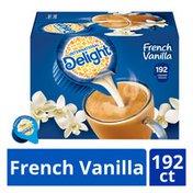International Delight French Vanilla Non Dairy Creamer Singles