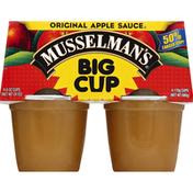 Musselman's Apple Sauce, Original, Big Cup