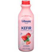 Lifeway Strawberry Kefir Cultured Lowfat Milk